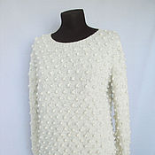 """Одежда ручной работы. Ярмарка Мастеров - ручная работа Пуловер """"Мурашка"""". Handmade."""