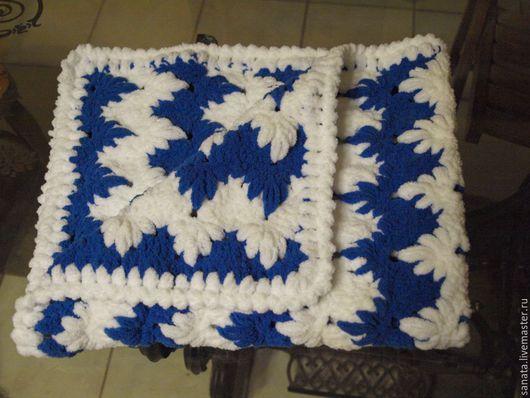 Пледы и одеяла ручной работы. Ярмарка Мастеров - ручная работа. Купить Плед для новорожденного. Handmade. Плед, плед для малыша