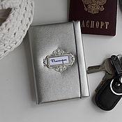 Обложки ручной работы. Ярмарка Мастеров - ручная работа Обложка для паспорта. Handmade.