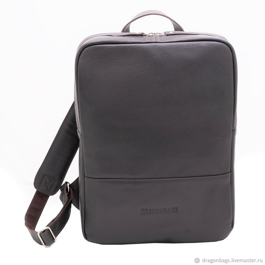 Backpacks handmade. Livemaster - handmade. Buy Backpack leather men's 'Smart' (Brown).Backpack, backpack genuine leather, genuine leather