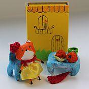 Куклы и игрушки ручной работы. Ярмарка Мастеров - ручная работа Малышка лисичка с домиком. Handmade.