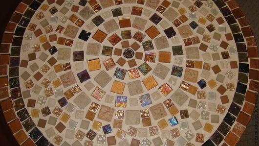"""Мебель ручной работы. Ярмарка Мастеров - ручная работа. Купить Мозаика, Столик """"Восток"""". Handmade. Столик, подарок на день рождения"""