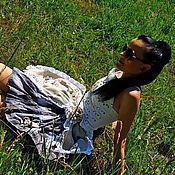 Одежда ручной работы. Ярмарка Мастеров - ручная работа Юбка в стиле бохо (98). Handmade.