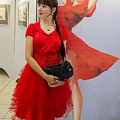 Одежда ручной работы. Ярмарка Мастеров - ручная работа Платье нарядное в стиле Диор. Handmade.