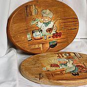 Посуда handmade. Livemaster - original item Cutting boards funny cooks. Handmade.