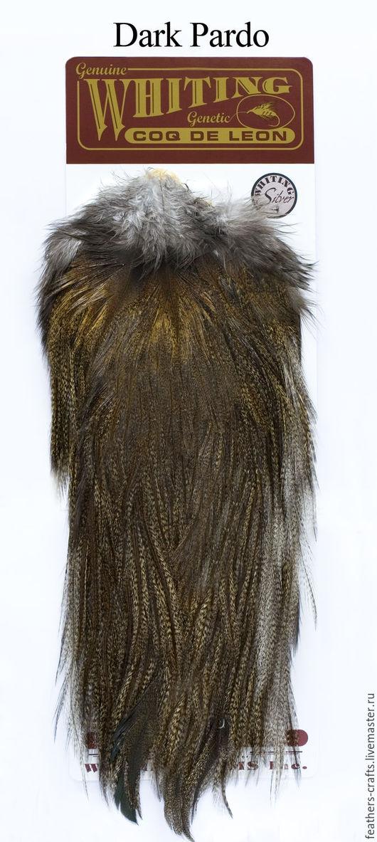 Другие виды рукоделия ручной работы. Ярмарка Мастеров - ручная работа. Купить Перья Coq de Leon Silver Rooster Saddle (51202044). Handmade.