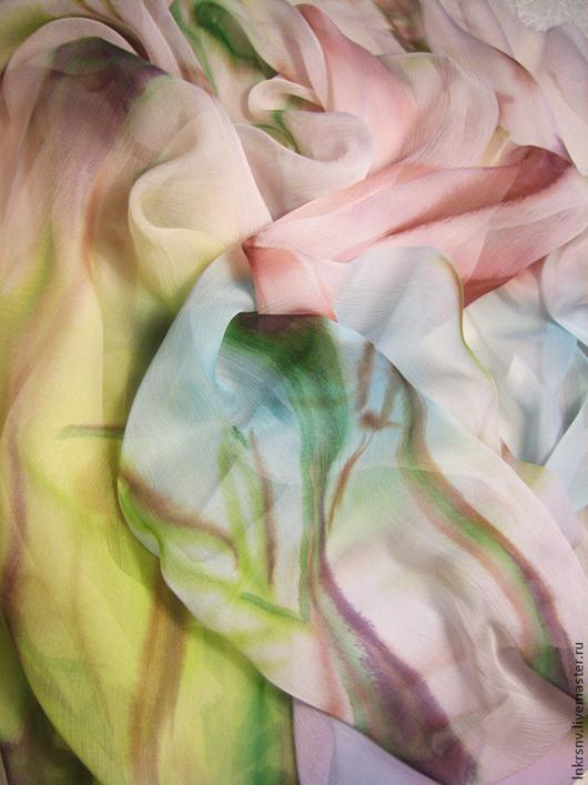 """Шарфы и шарфики ручной работы. Ярмарка Мастеров - ручная работа. Купить Шарф """"Бамбук"""". Handmade. Бледно-розовый, японский стиль"""