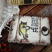 Канцелярские товары handmade. Livemaster - original item Notepad on wooden rings Come in, if th!. Handmade.