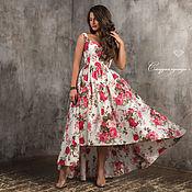 Одежда handmade. Livemaster - original item ... Summer sundress soft