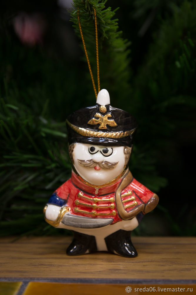 Гусар Игрушка на елку, Елочные игрушки, Сергиев Посад,  Фото №1