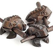 Музыкальные инструменты ручной работы. Ярмарка Мастеров - ручная работа Квакающая жаба. Handmade.