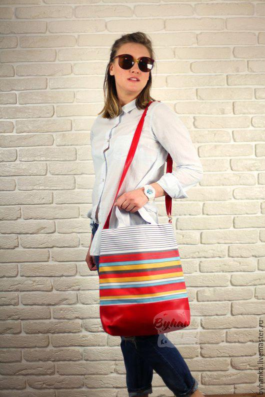 Женские сумки ручной работы. Ярмарка Мастеров - ручная работа. Купить Сумка через плечо/на руку. Handmade. Вместительная сумка