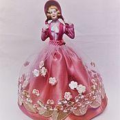 Кукла-игольница (винтаж