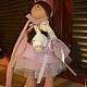 Куклы Тильды ручной работы. интерьерные куклы. Анна. Интернет-магазин Ярмарка Мастеров. Кукла ручной работы, трикотаж, текстиль