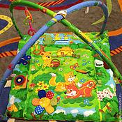 Куклы и игрушки ручной работы. Ярмарка Мастеров - ручная работа Развивающий коврик с дугами. Handmade.