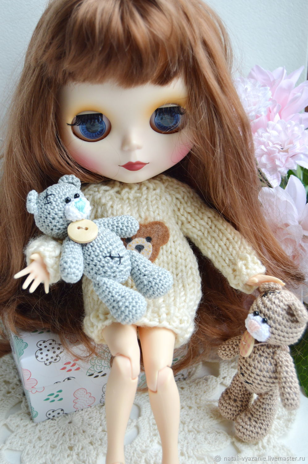 Teddy Bear Knitted Mini Shop Online On Livemaster With Shipping