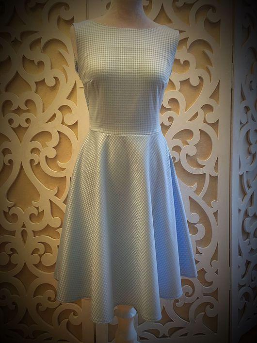 """Платья ручной работы. Ярмарка Мастеров - ручная работа. Купить Платье """"Лиза"""". Handmade. Голубое платье, легкое платье"""