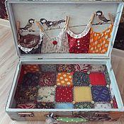 Сумки и аксессуары handmade. Livemaster - original item Suitcase
