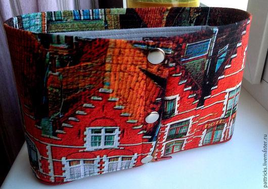 """Органайзеры для сумок ручной работы. Ярмарка Мастеров - ручная работа. Купить Органайзер для сумки (тинтамар) """"Амстердам"""". Handmade. Тинтамар, фетр"""