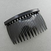 Материалы для творчества handmade. Livemaster - original item Foundation for comb plastic black(Ref. 1550). Handmade.