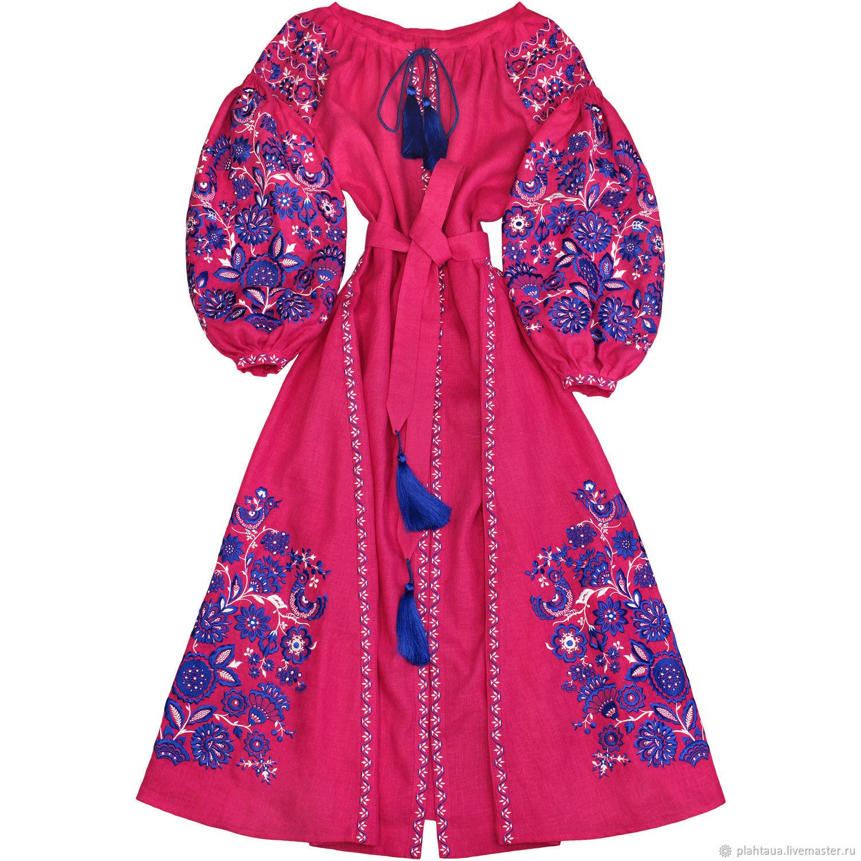 """Ярко-розовое платье """"Чудо-Дерево"""", Dresses, Kiev,  Фото №1"""