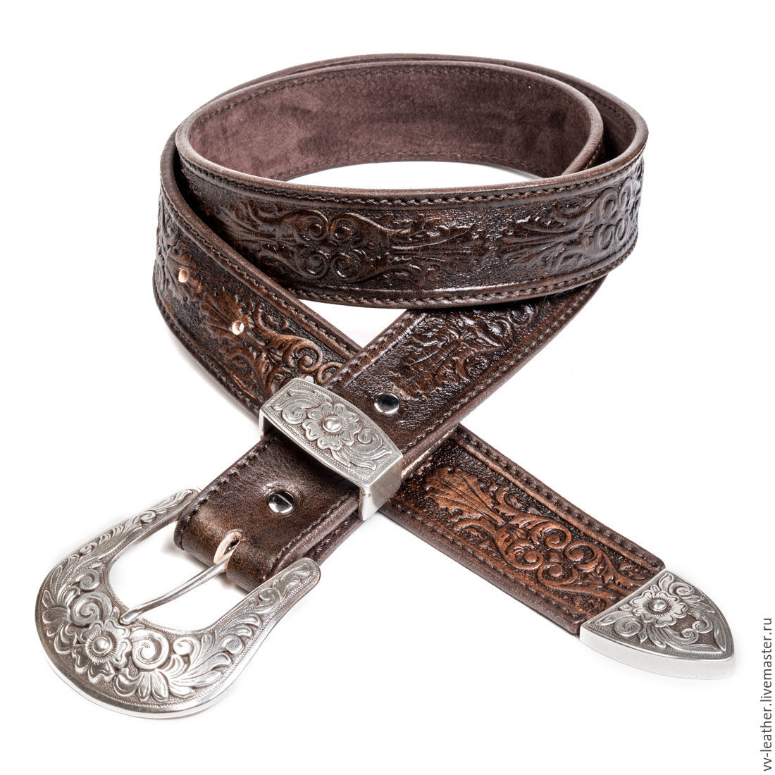 Strap leather