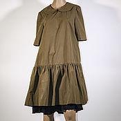 Одежда ручной работы. Ярмарка Мастеров - ручная работа Платье хлопок Джоли. Handmade.