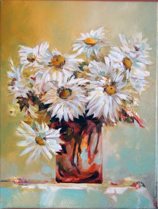 Картины цветов ручной работы. Ярмарка Мастеров - ручная работа. Купить Живопись маслом . Картины цветов. Handmade. Комбинированный, цветы