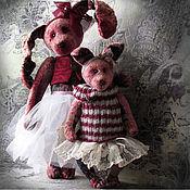 Куклы и игрушки handmade. Livemaster - original item Ballet - Anna and Mika. Handmade.