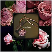 """Украшения ручной работы. Ярмарка Мастеров - ручная работа Браслет """" Роза"""". Handmade."""