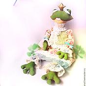 Куклы и игрушки ручной работы. Ярмарка Мастеров - ручная работа Принцесса-Лягушка в мечтах о прекрасном. Handmade.