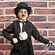 Коллекционные куклы ручной работы. Портретная кукла Чарли Чаплин. Елена Мишина Мой Кукольный Народец (elenamishina). Интернет-магазин Ярмарка Мастеров.