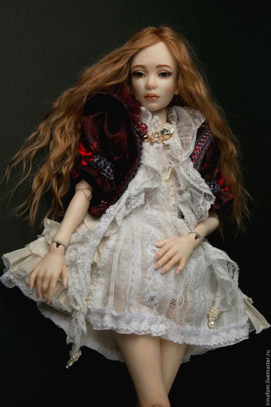 Коллекционные куклы ручной работы. Ярмарка Мастеров - ручная работа. Купить Инфанта.Фарфоровая, шарнирная кукла 46 см.. Handmade.