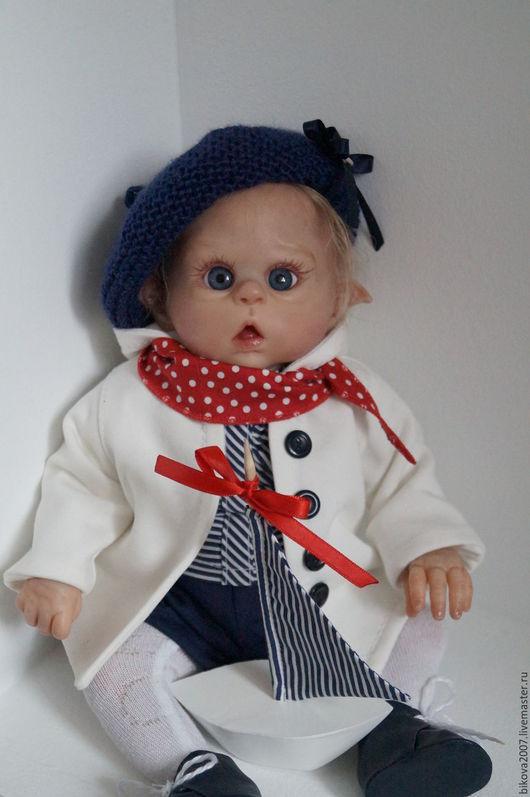 Куклы-младенцы и reborn ручной работы. Ярмарка Мастеров - ручная работа. Купить Морячок. Handmade. Ярко-красный, винил