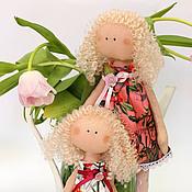 Куклы и игрушки ручной работы. Ярмарка Мастеров - ручная работа Текстильные куклы Аля и София. Handmade.