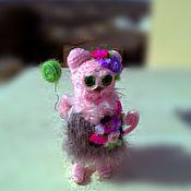 Куклы и игрушки ручной работы. Ярмарка Мастеров - ручная работа кукла кошка Она обиделась. Handmade.