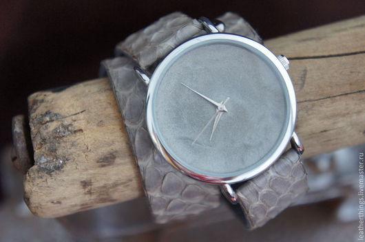 Часы ручной работы. Ярмарка Мастеров - ручная работа. Купить Часы. Handmade. Часы, эксклюзивные часы, кожа, мода, фурнитура