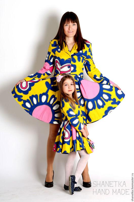 Верхняя одежда ручной работы. Ярмарка Мастеров - ручная работа. Купить Пальто летнее женское хлопковое Фэркулла. Handmade.