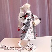 Куклы и игрушки ручной работы. Ярмарка Мастеров - ручная работа Ангелы: зима. Авторская коллекционная кукла, интерьерная игрушка. Handmade.