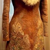 Одежда ручной работы. Ярмарка Мастеров - ручная работа Пальто валяное зимнее.. Handmade.