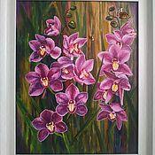 Картины и панно handmade. Livemaster - original item Pictures: Oil painting. Flowers.. Handmade.