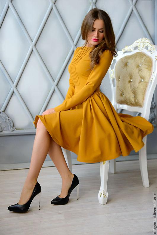 Платья ручной работы. Ярмарка Мастеров - ручная работа. Купить Платье. Handmade. Рыжий, красное платье, платье на выход