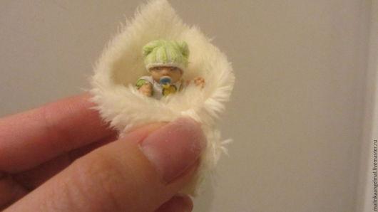 Куклы-младенцы и reborn ручной работы. Ярмарка Мастеров - ручная работа. Купить Продан Микро малыш 3 см. Handmade.