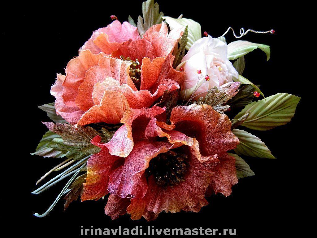 Silk Flowersutonniere Maki Indian Silk Shop Online On