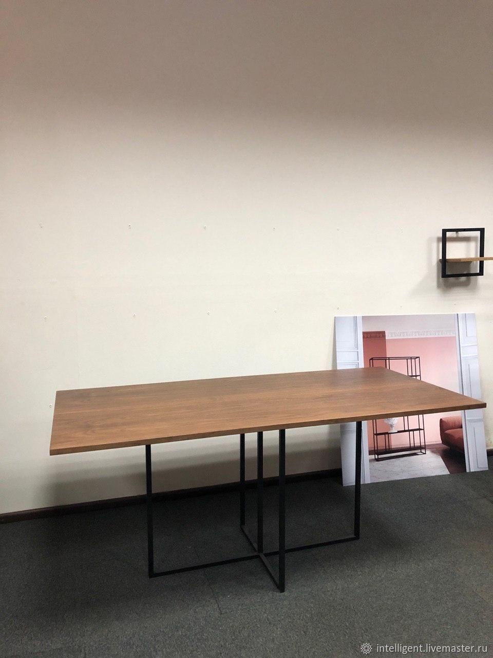 Обеденный стол Sirius black американский орех, Столы, Москва,  Фото №1