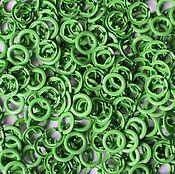Материалы для творчества ручной работы. Ярмарка Мастеров - ручная работа Кнопки Prym 9,5 мм рубашечные зеленый (трикотажные, джерси). Handmade.