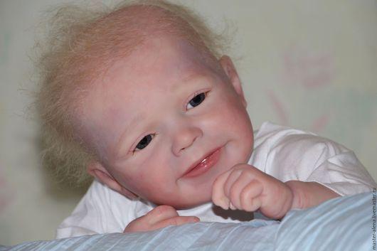 Куклы-младенцы и reborn ручной работы. Ярмарка Мастеров - ручная работа. Купить Семушка продан.. Handmade. Кукла, младенец реборн