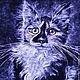 Животные ручной работы. Ярмарка Мастеров - ручная работа. Купить Мейн-кун. Прекрасная и необычная кошка. Handmade. Чёрно-белый