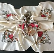 Vintage accessories handmade. Livemaster - original item Vintage scarf
