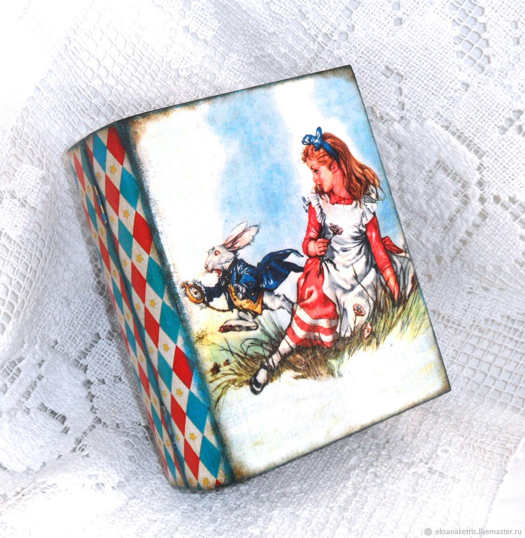 Шкатулка Алиса в стране чудес, Шкатулки, Новосибирск,  Фото №1